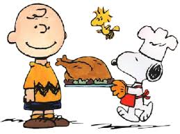 photo of charlie brown and thanksgiving