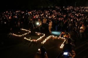 vigil in Roseberg